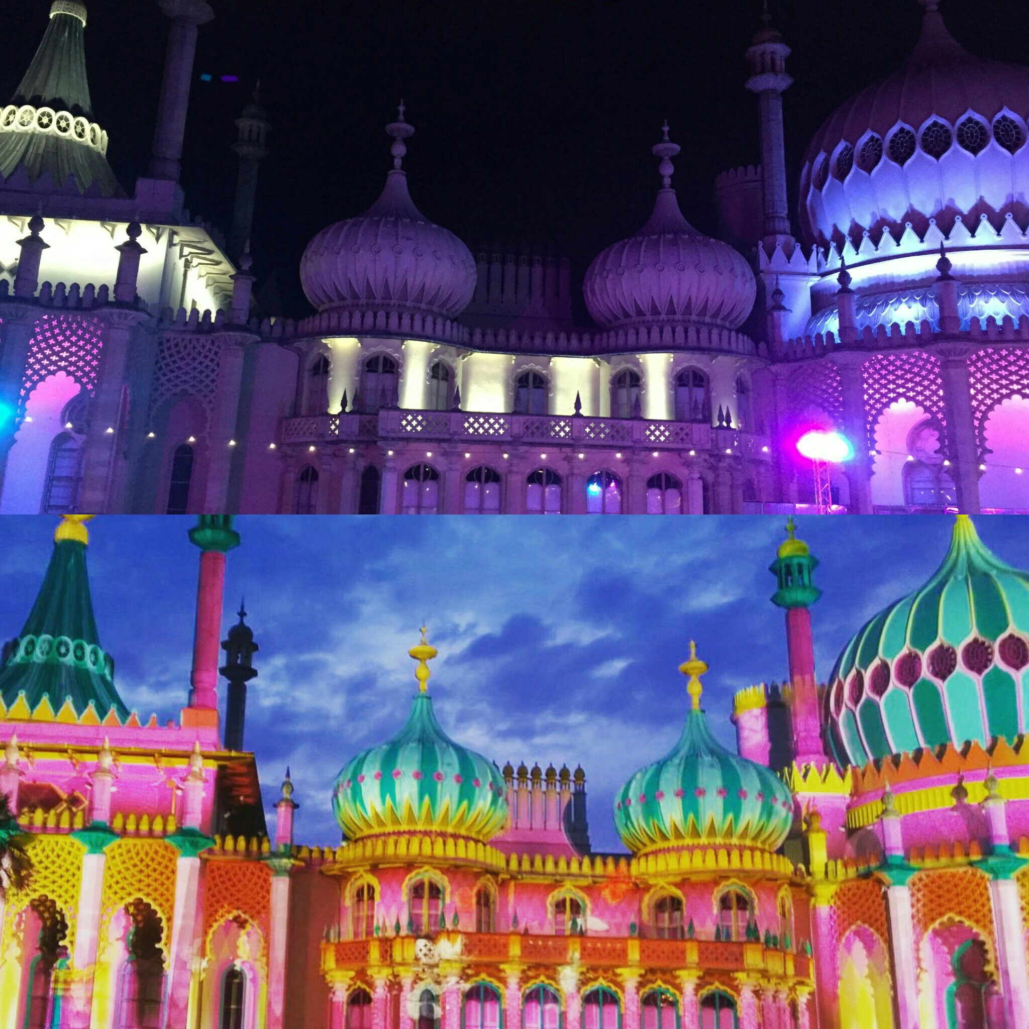 Royal Pavilion Brighton Festival May 2016 + Christmas 2018