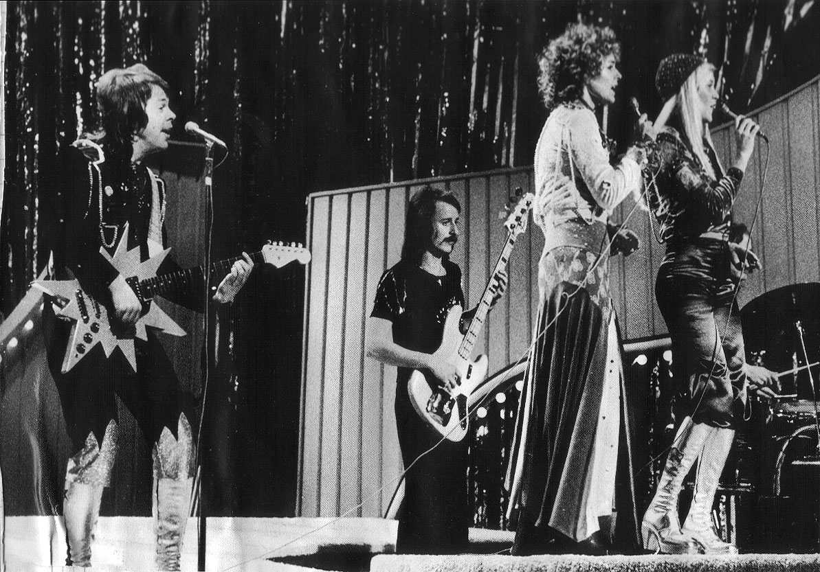 Abba Eurovision Song Contest Brighton Dome1974